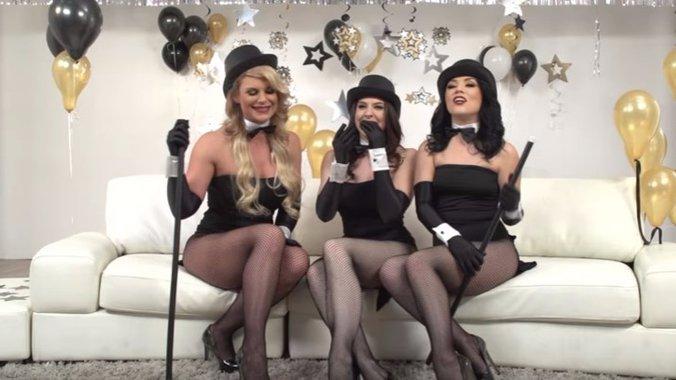 Crni bachelorette party porno