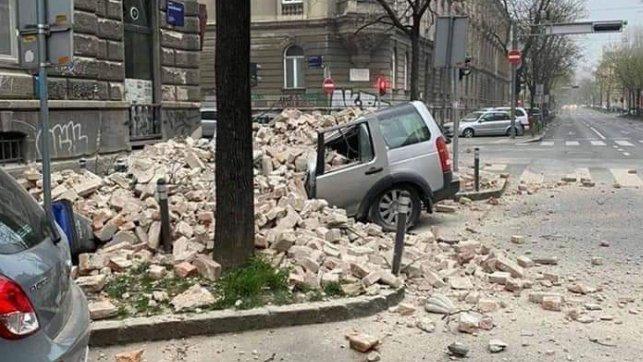 Pink Rs Ovo Je Trenutak Kada Se Zatresao Zagreb Kamere Uhvatile Najjaci Potres U 140 Godina Necete Verovati Da Su Ovi Snimci Pravi Video