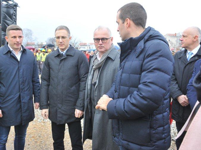Pink Rs Ministar Stefanovic Polozio Kamen Temeljac Za